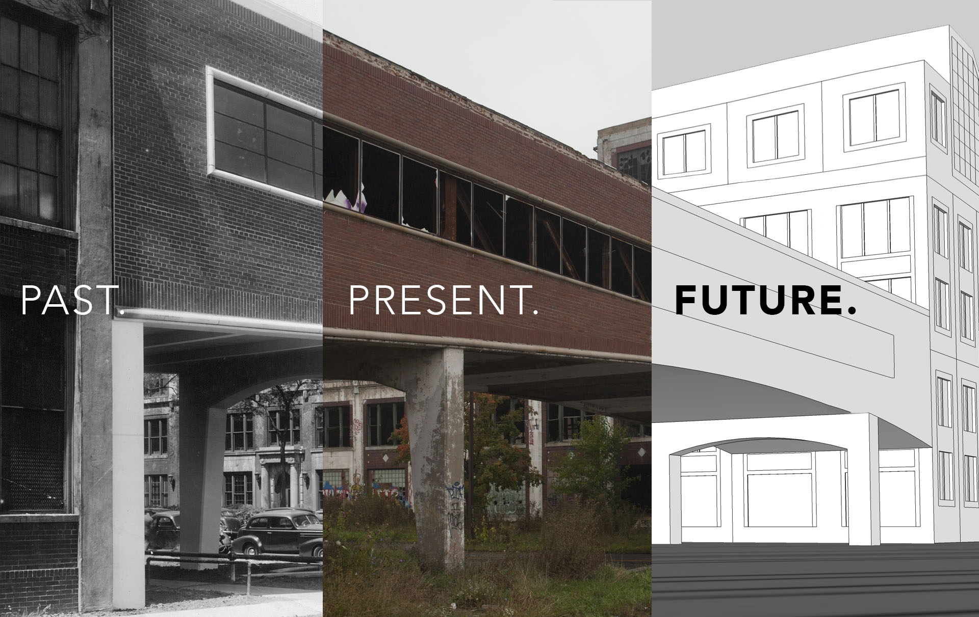 The packard plant project for Rose city motors michigan